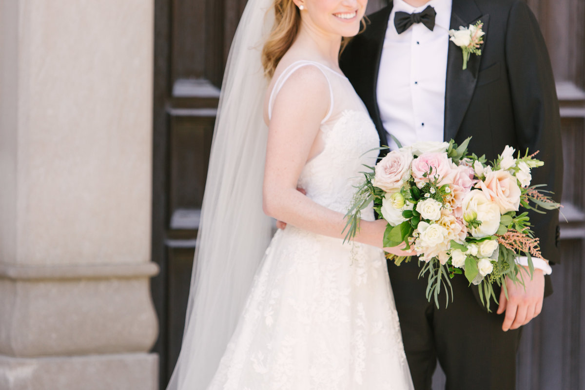 Scottish Rite Cathedral Wedding Styling Photo
