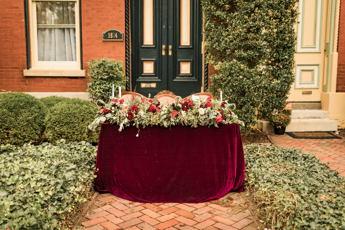 Fall Boho-Inspired Styled Shoot Lafayette Square Historic District  St. Louis, Missouri  Allison Slater Photography  Wedding Photographer89
