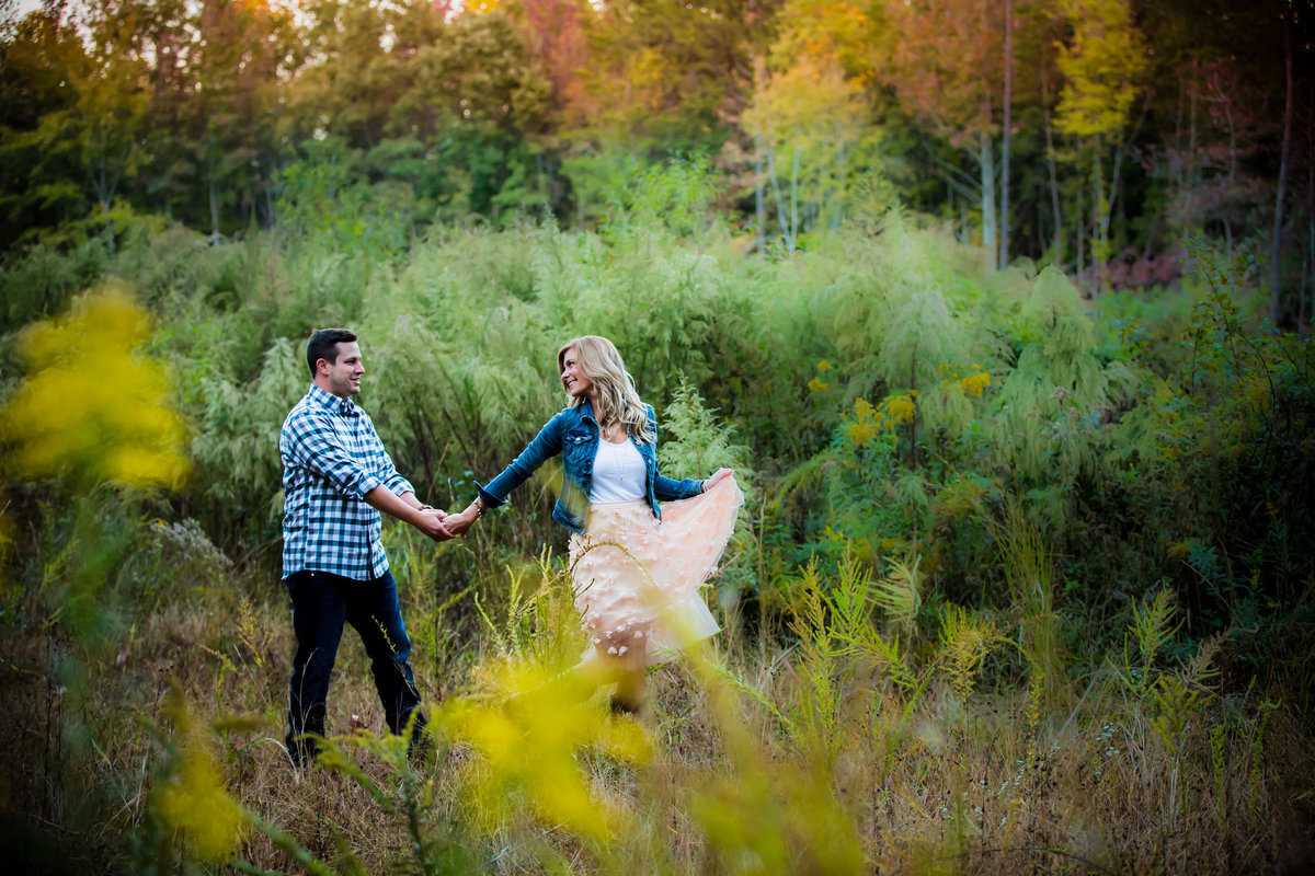 Charlotte Engagement Photos Fall by Cass Bradley_Megan and Bubba-34