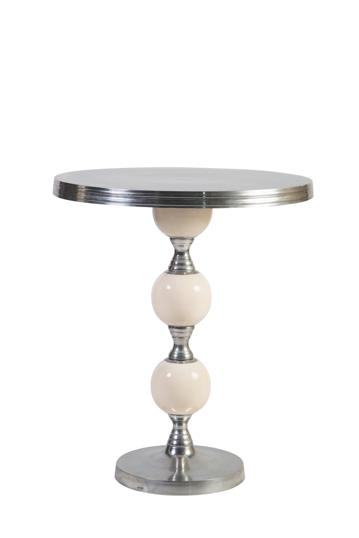 White-Silver Joya Cocktail Table