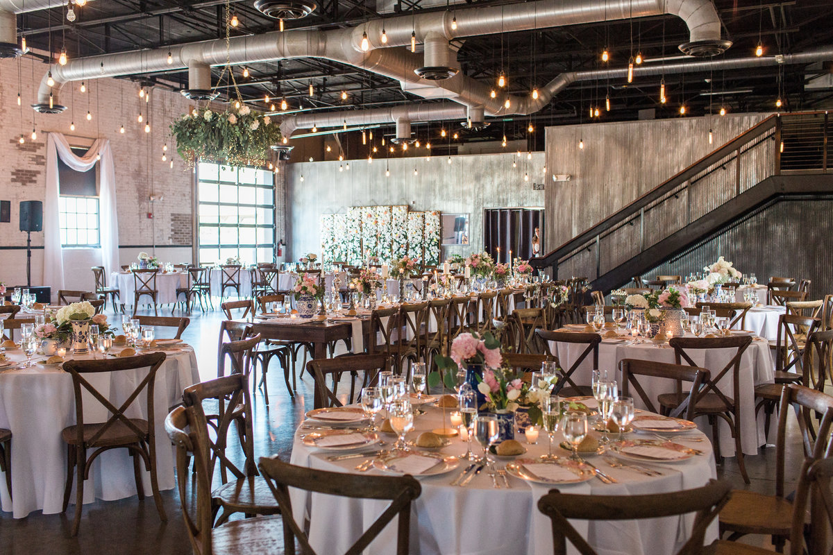 The Brick South Bend Wedding Reception Photo
