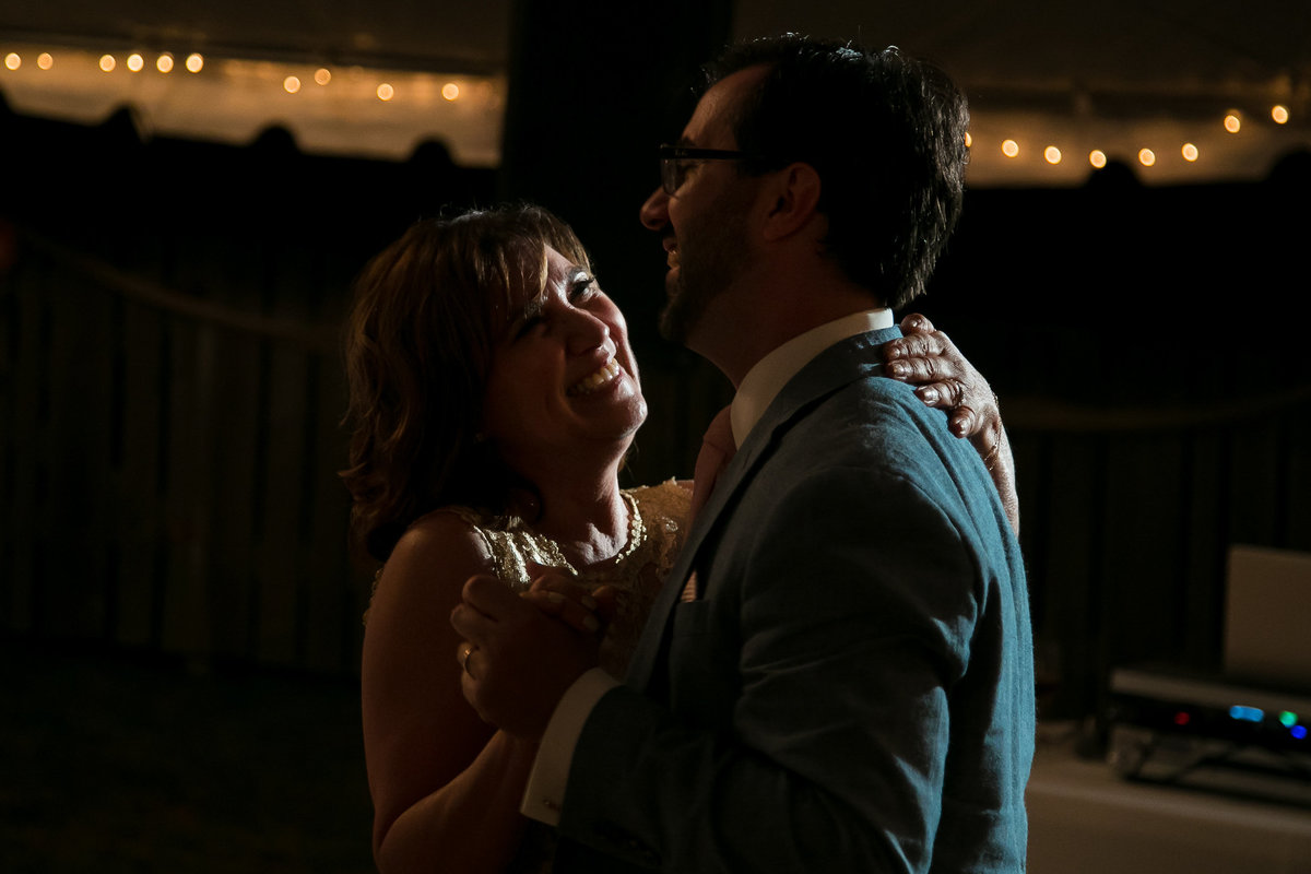 Brooklyn Wedding Photographer | Rob Allen Photography | Destination Wedding Photographer at Mt. Sinai New York  groom mother dance