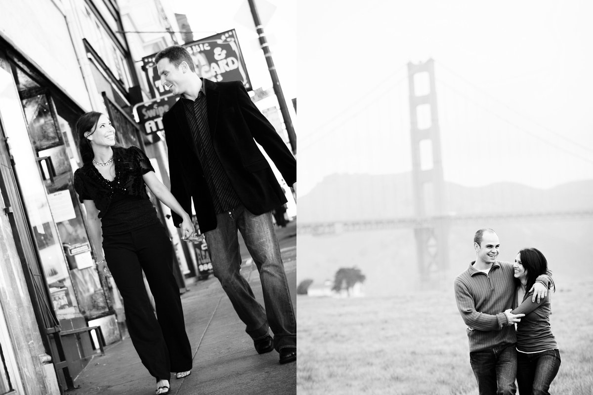 North Beach Engagement Session, Chrissy Field Engagement Session, Engaged, Engagement Photography, Jennifer Baciocco Photography