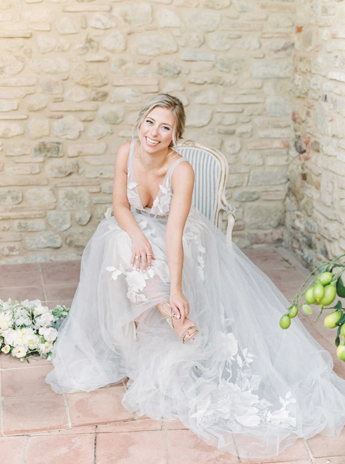 Tuscany Wedding Erica Nick - Lauren Fair Photography078