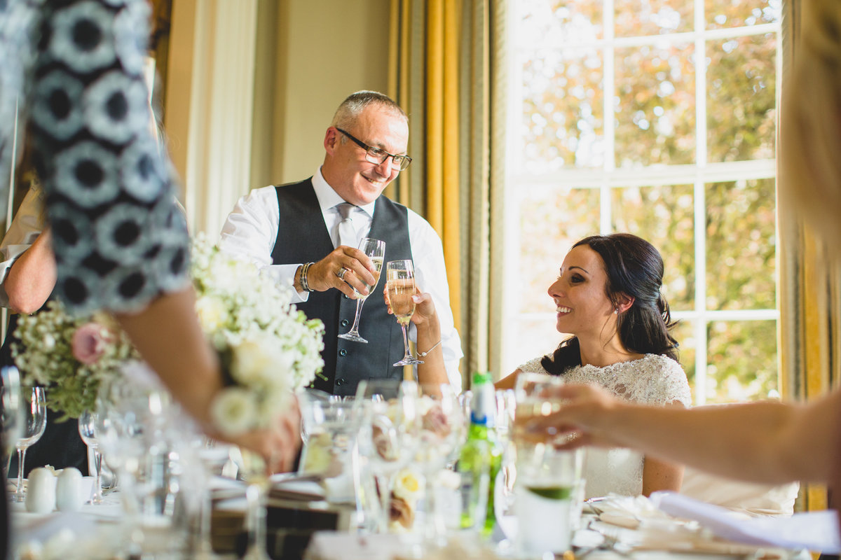 toast of the bride at rudding park