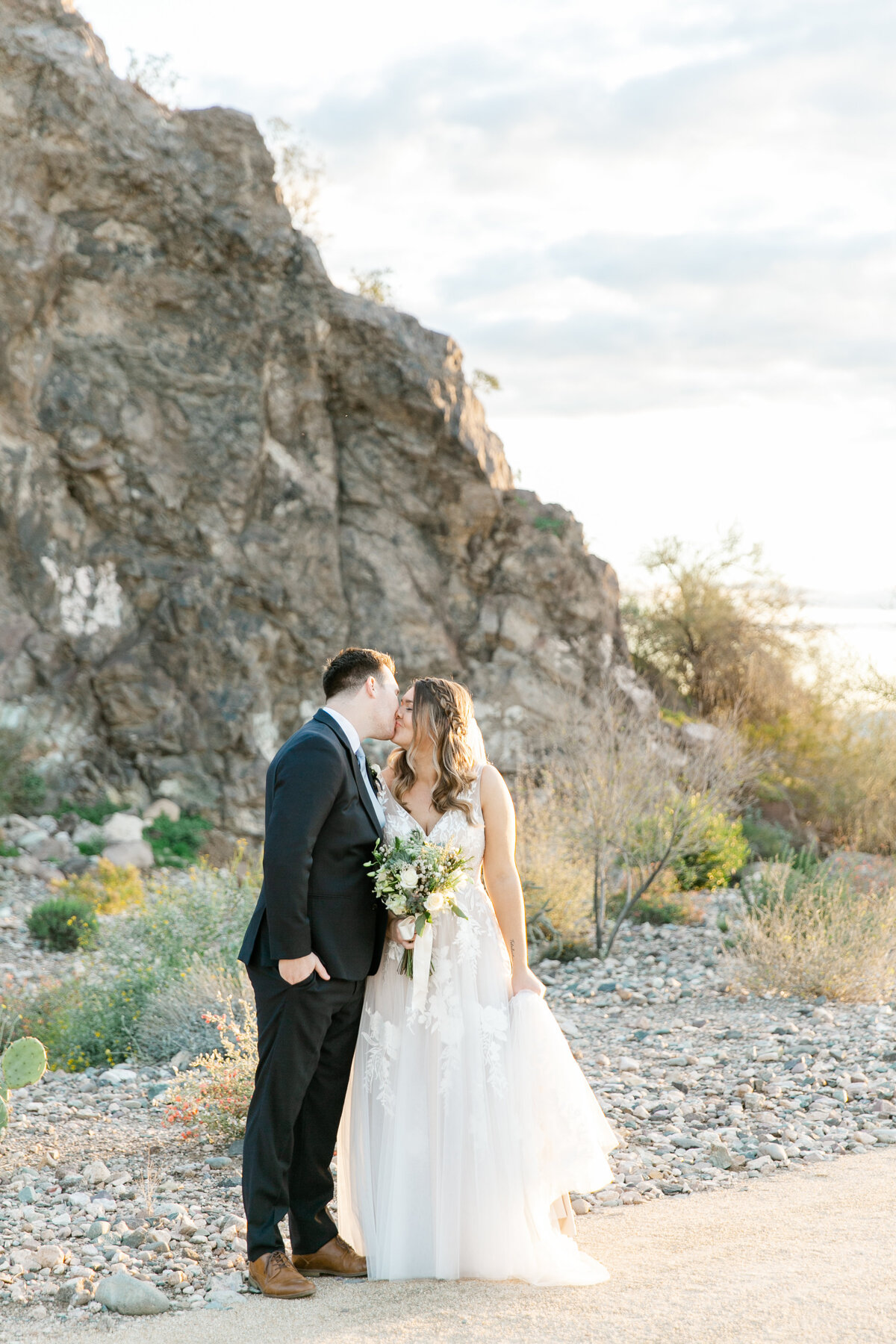 Karlie Colleen Photography - Arizona Backyard wedding - Brittney & Josh-197