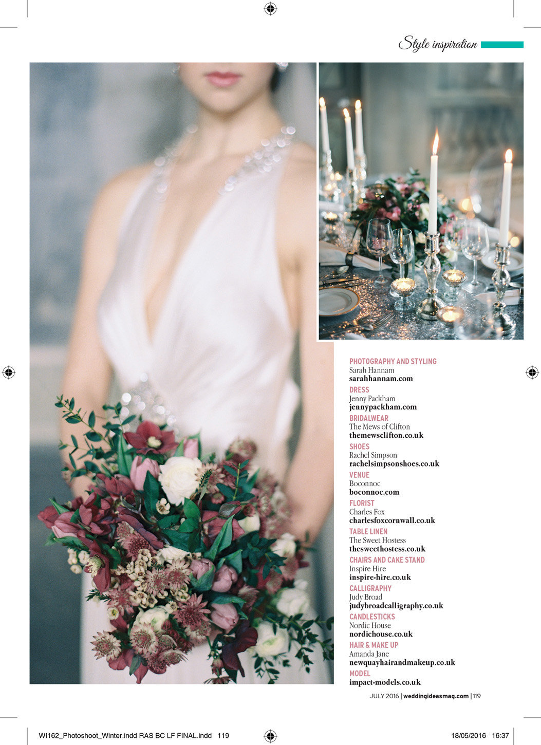 wedding ideas magazine boconnoc cornwall winter wedding