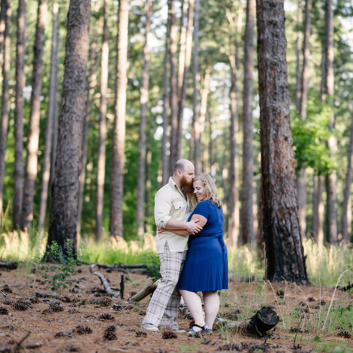 Kathy+Jonah|DukeForestPortraitSession-16