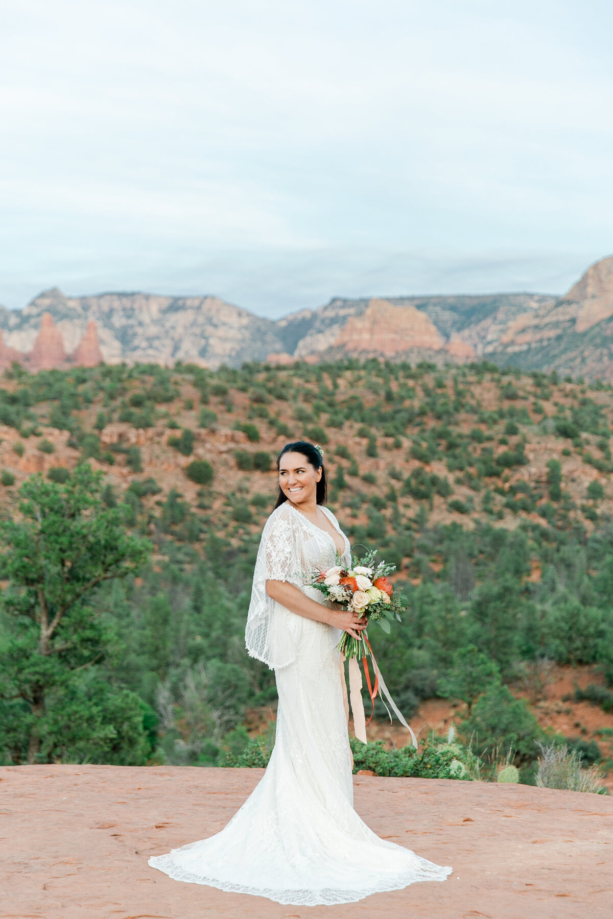 Karlie Colleen Photography - Sedona Arizona Elopement Wedding - Sara & Alfredo-277