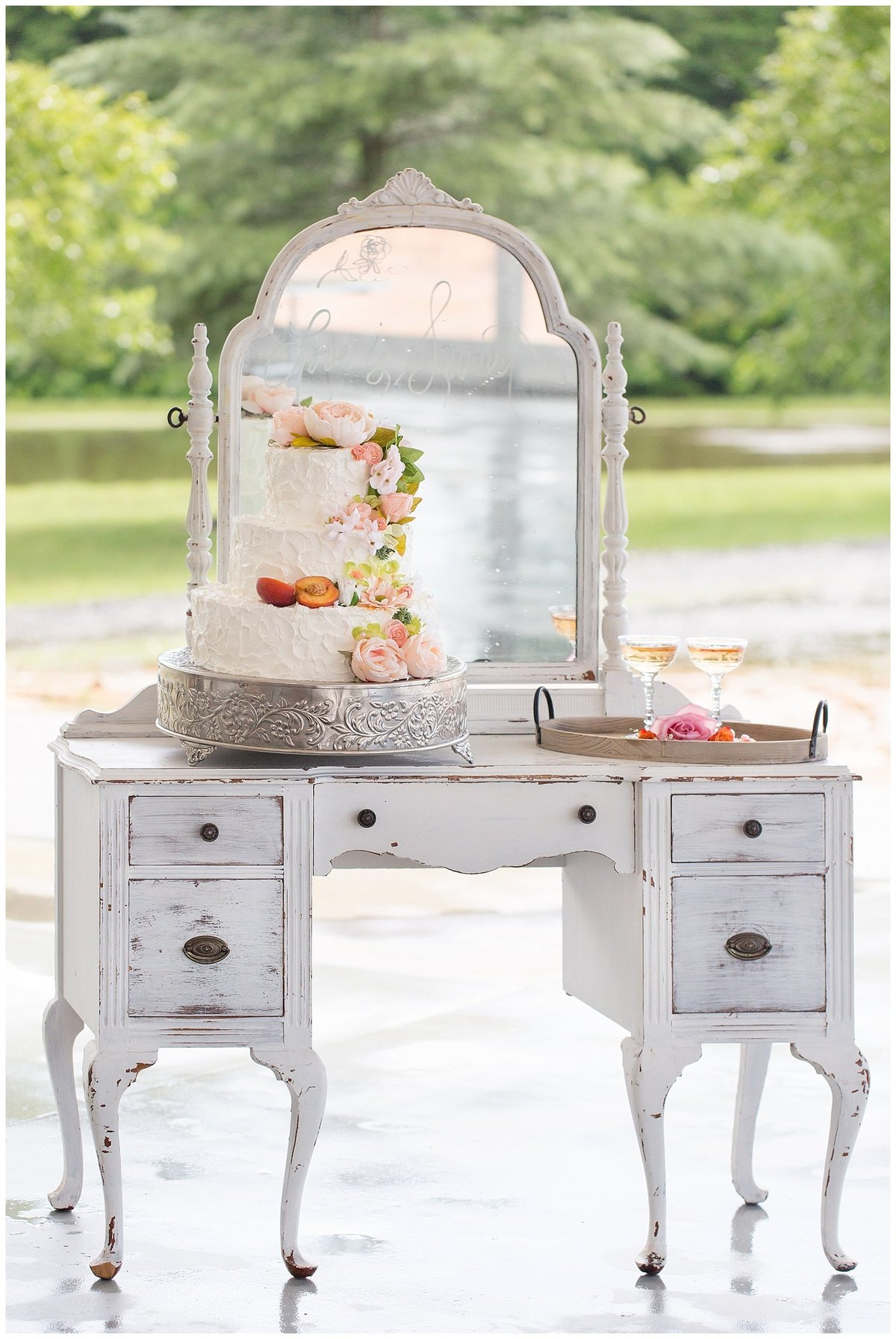 Southern Peach Styled Shoot Arbor Haven-071