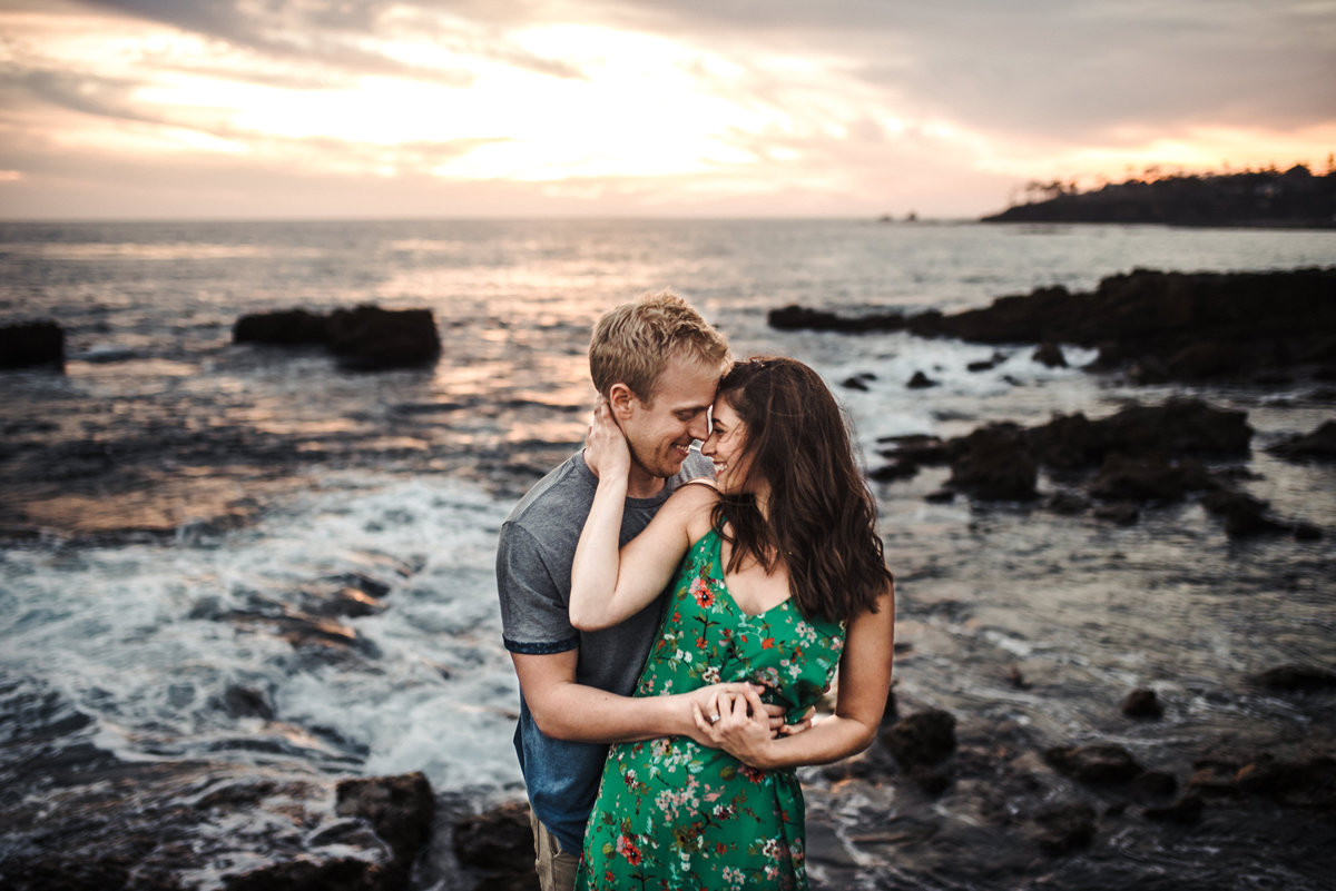 Laguna Beach Engagement Session - 071