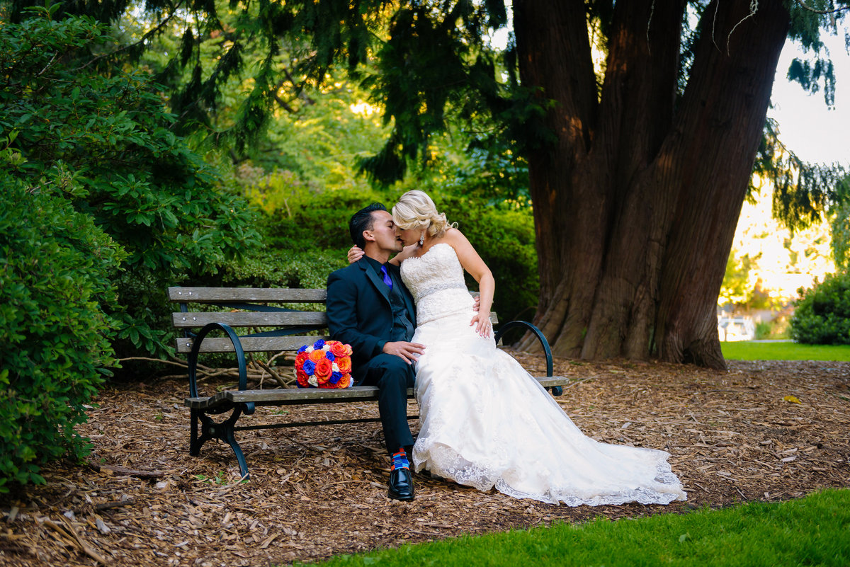 washington park arboretum wedding seattle