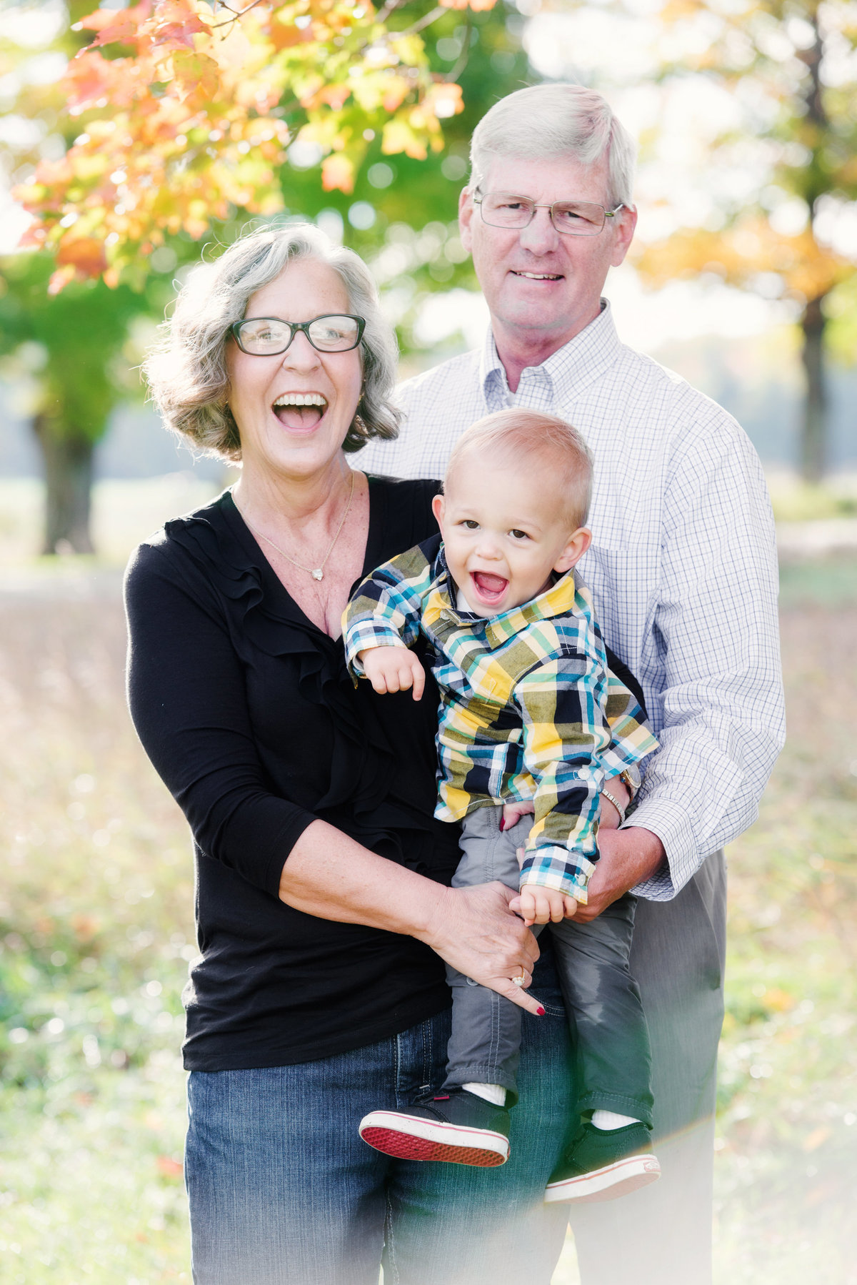 family portrait photographers fall session in traverse city michigan
