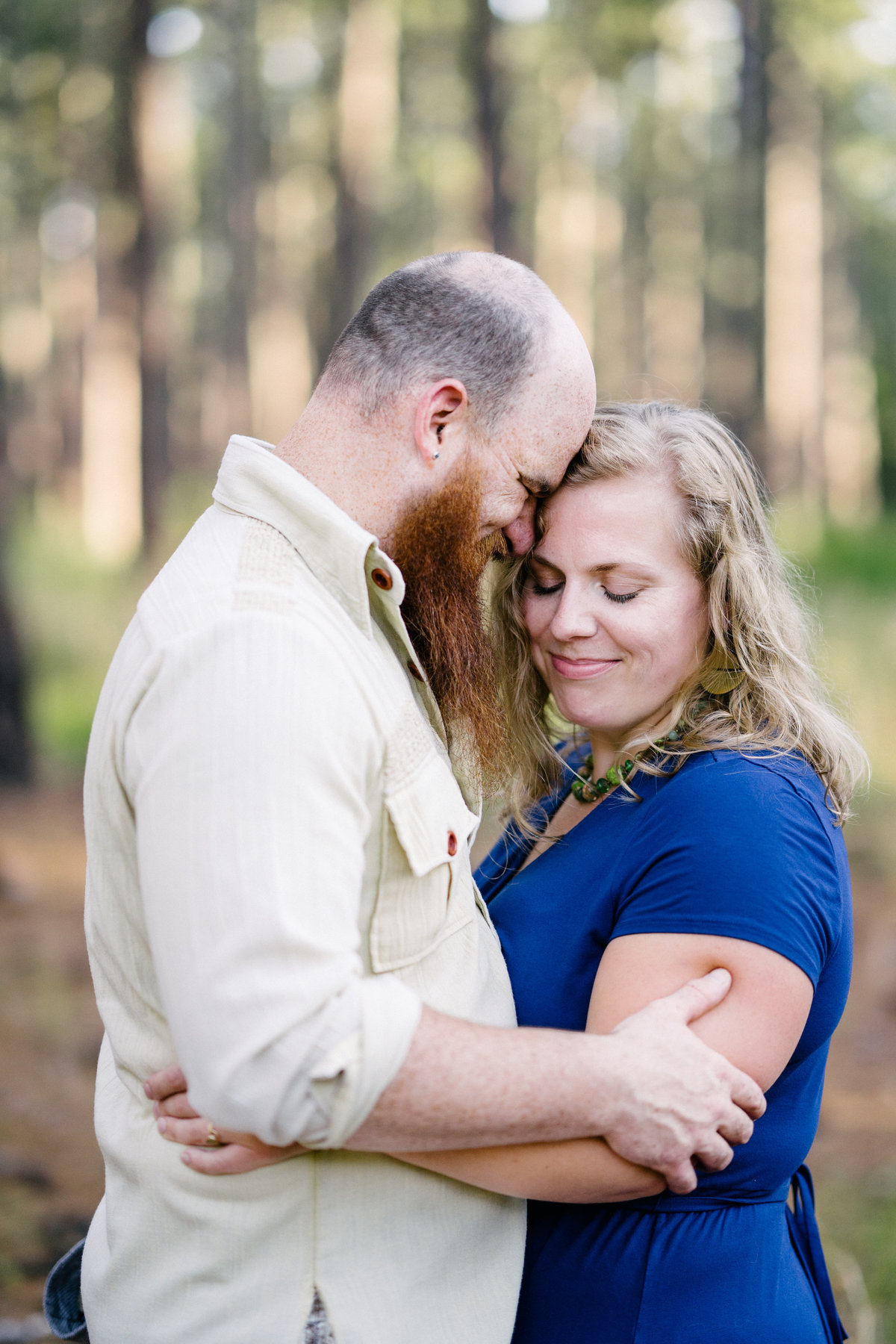 Kathy+Jonah|DukeForestPortraitSession-18