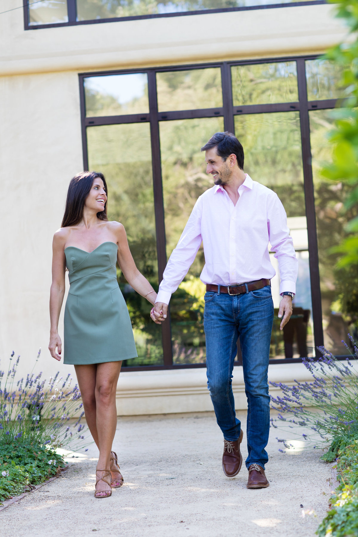 San Francisco Engagement Photographer, session at a Private Home in Atherton, CA