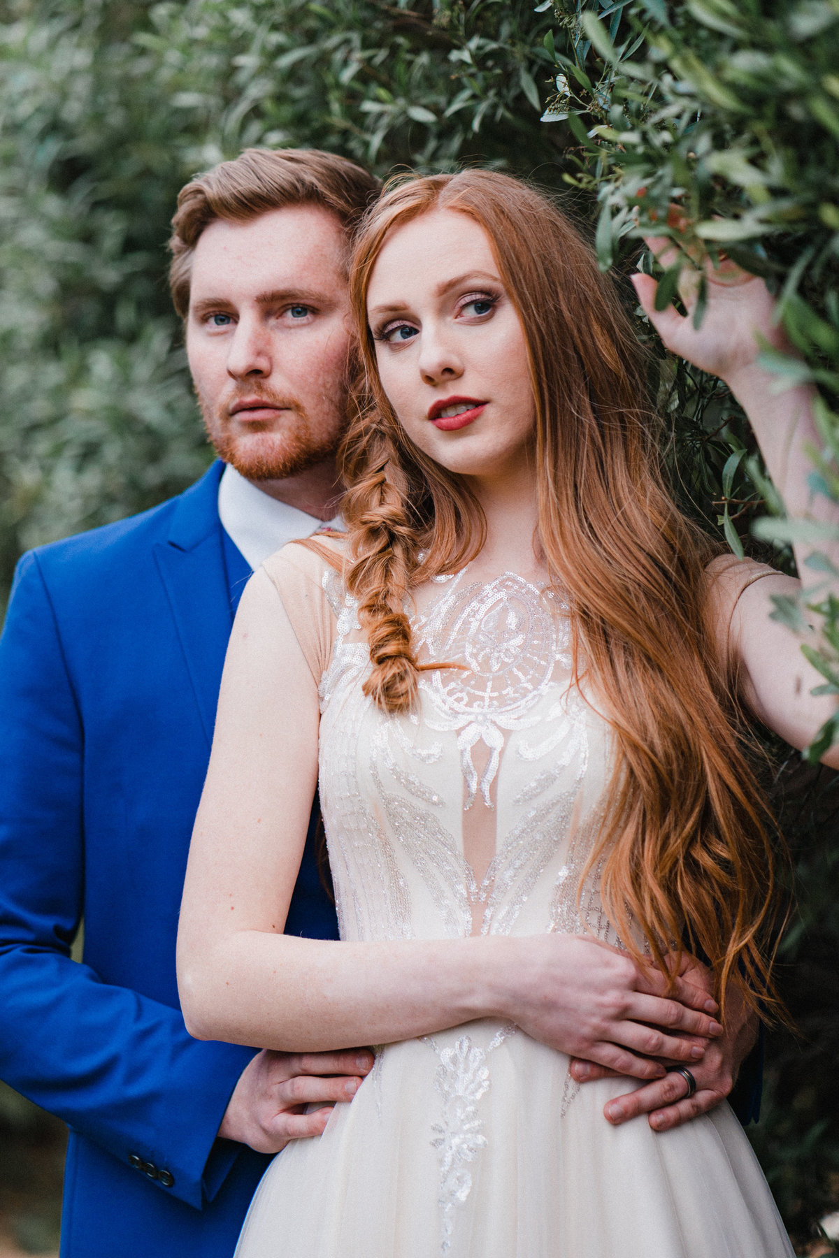 Atlas Rose Photography AZ Gather Estate Bridals In The Leaves 02
