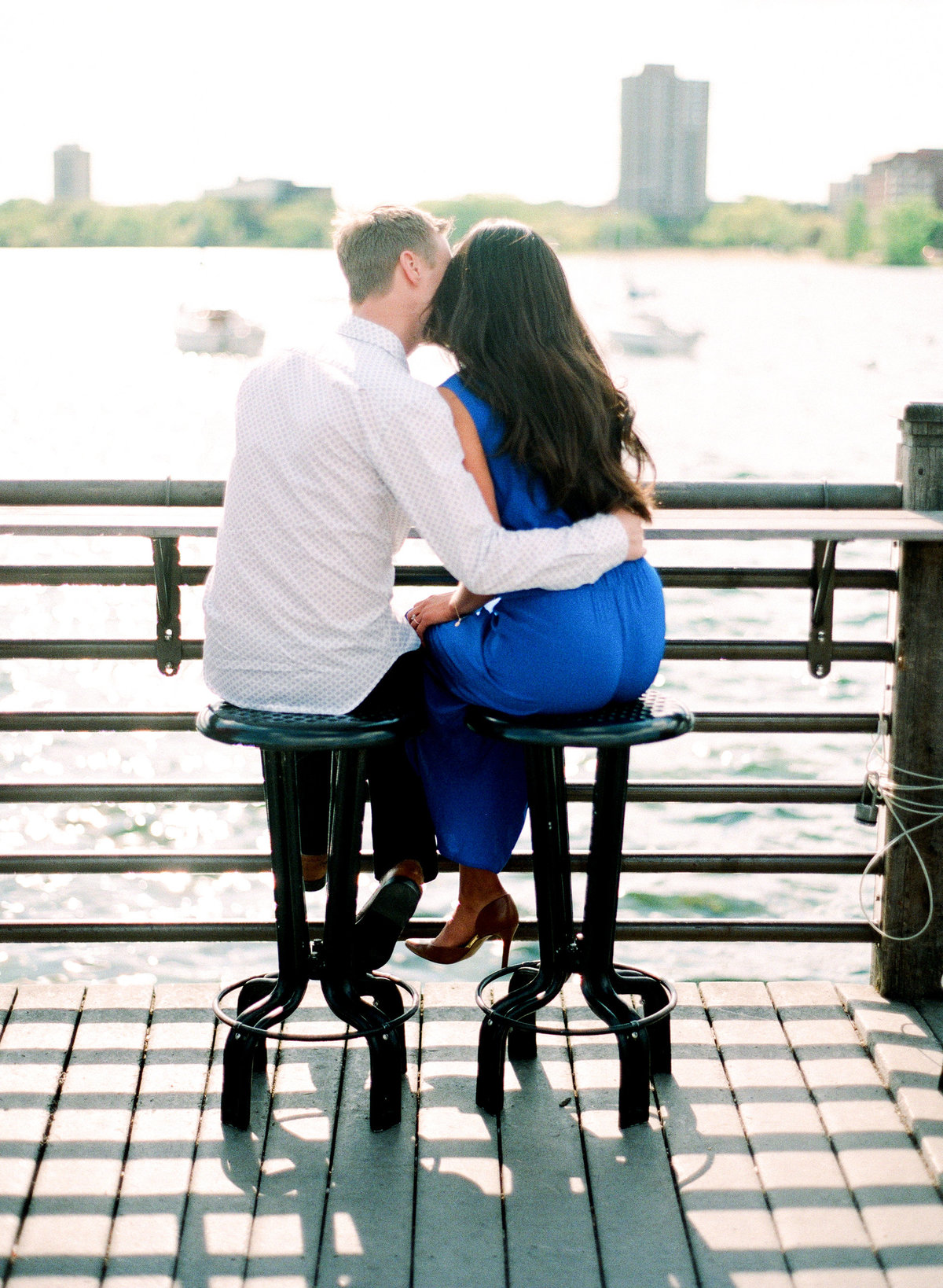 Minnesota Lakeside Engagement Session