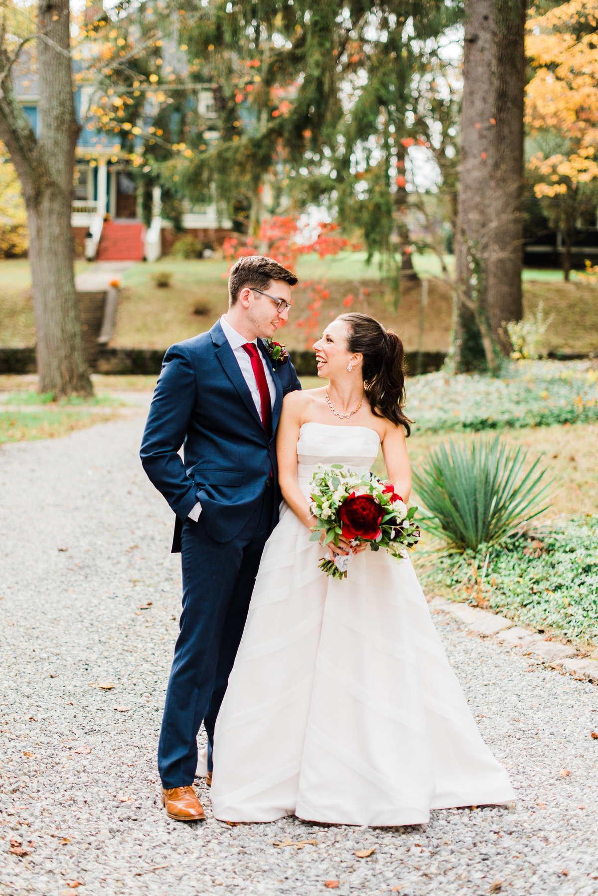 classic asheville wedding portrait photo