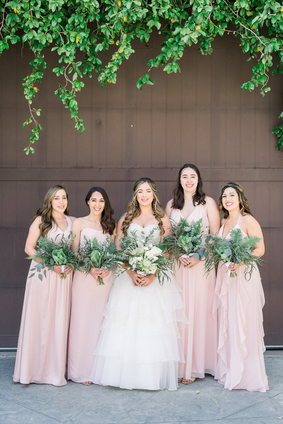 Wild Bouquet Greenery Los Angeles Wedding Photography