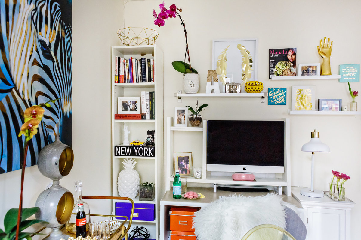 design sponge makini regal home office makeover