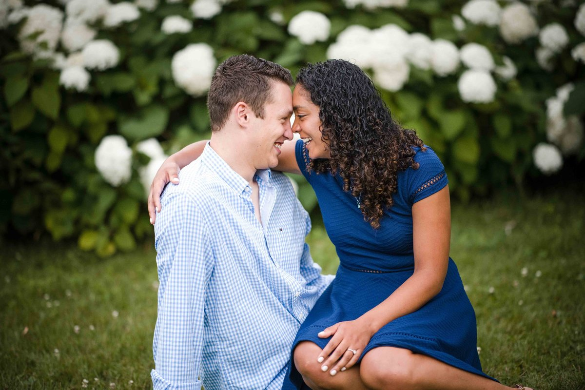 39 engagement photos with white flowers for chippanee country club wedding
