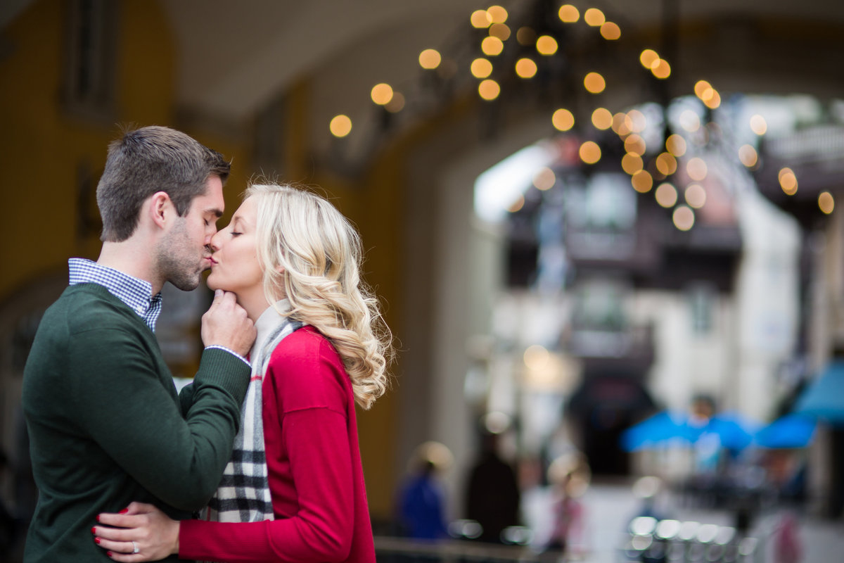 engagement photos in vail village