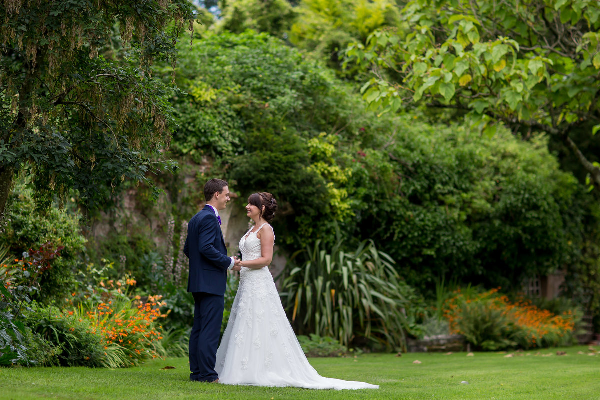 natural wedding photography in north devon