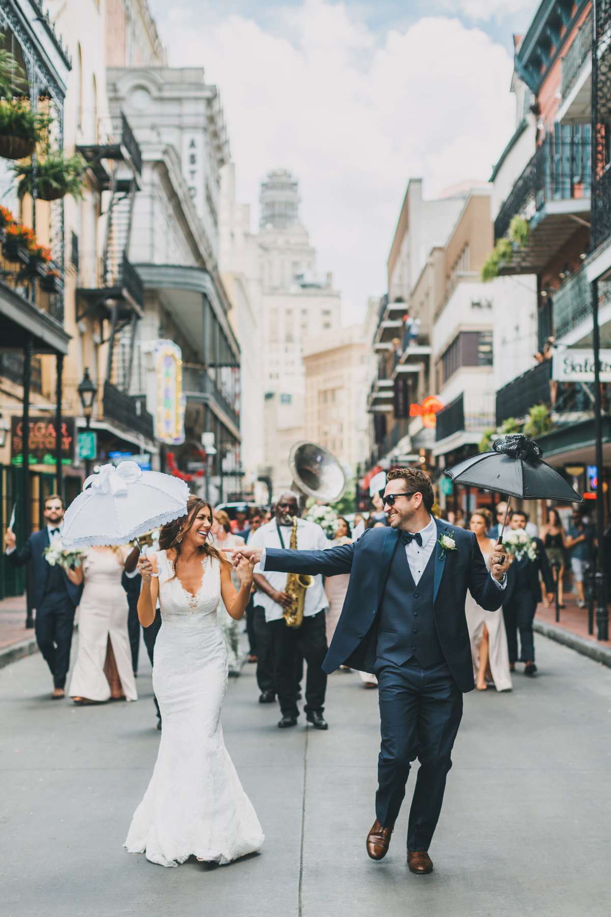 GuzzardoWedding_TrolleySecondLine-81