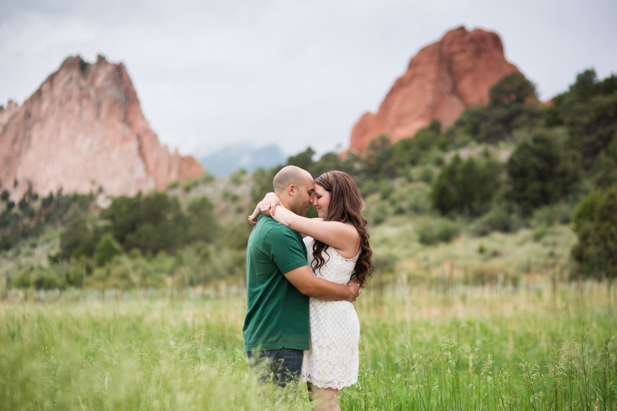 Red Rocks engagement photos