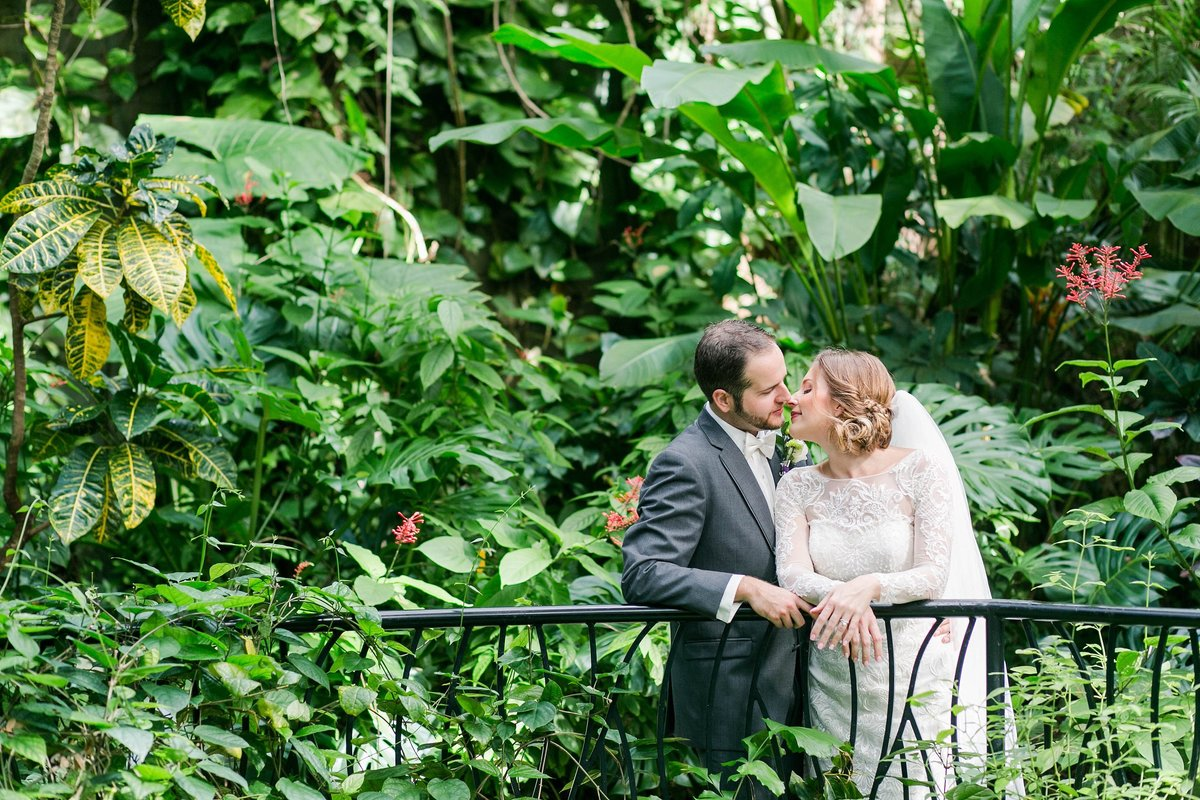 Sunken Gardens St Pete Wedding Photographer
