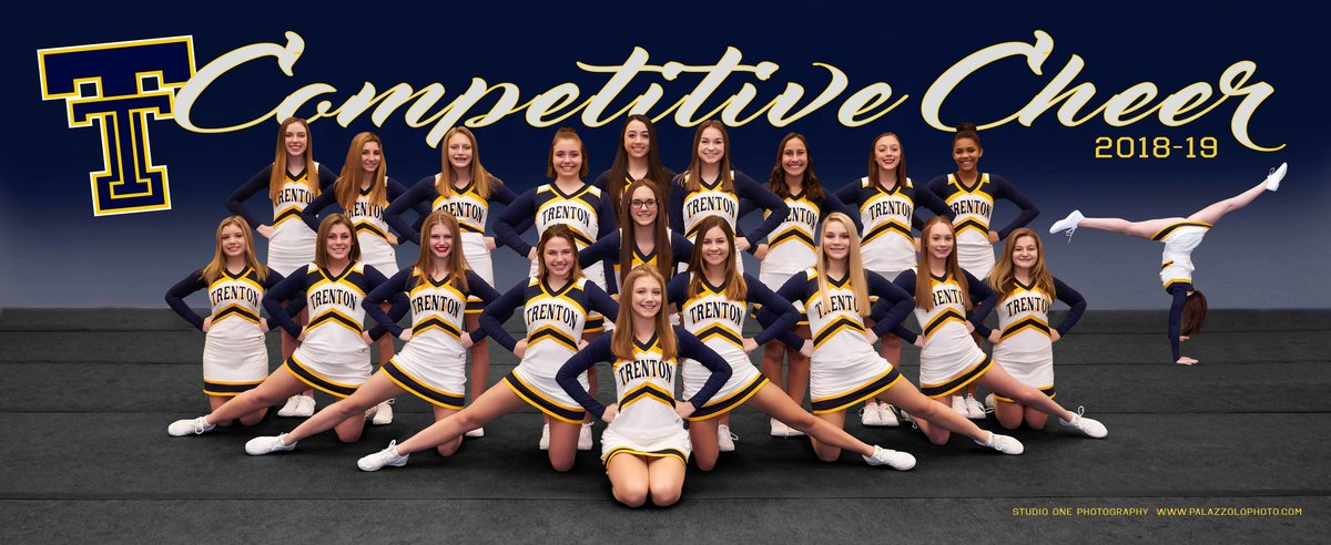 Trenton Competitive Cheer Poster 2018-19