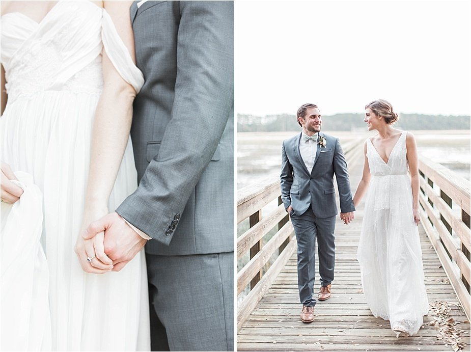 Lowcountry Marsh Wedding Details Dock