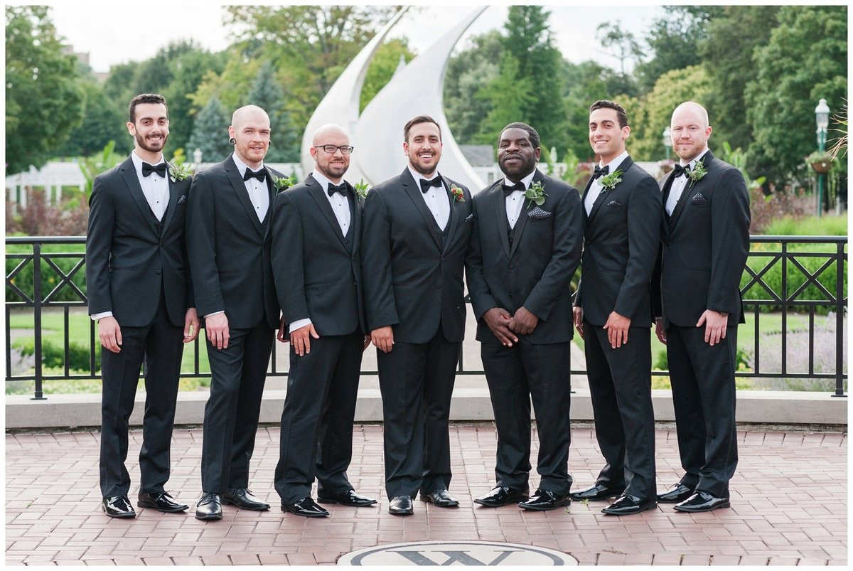 Franklin Park Conservatory Wedding The Palm House Bridal Garden Grove_0014