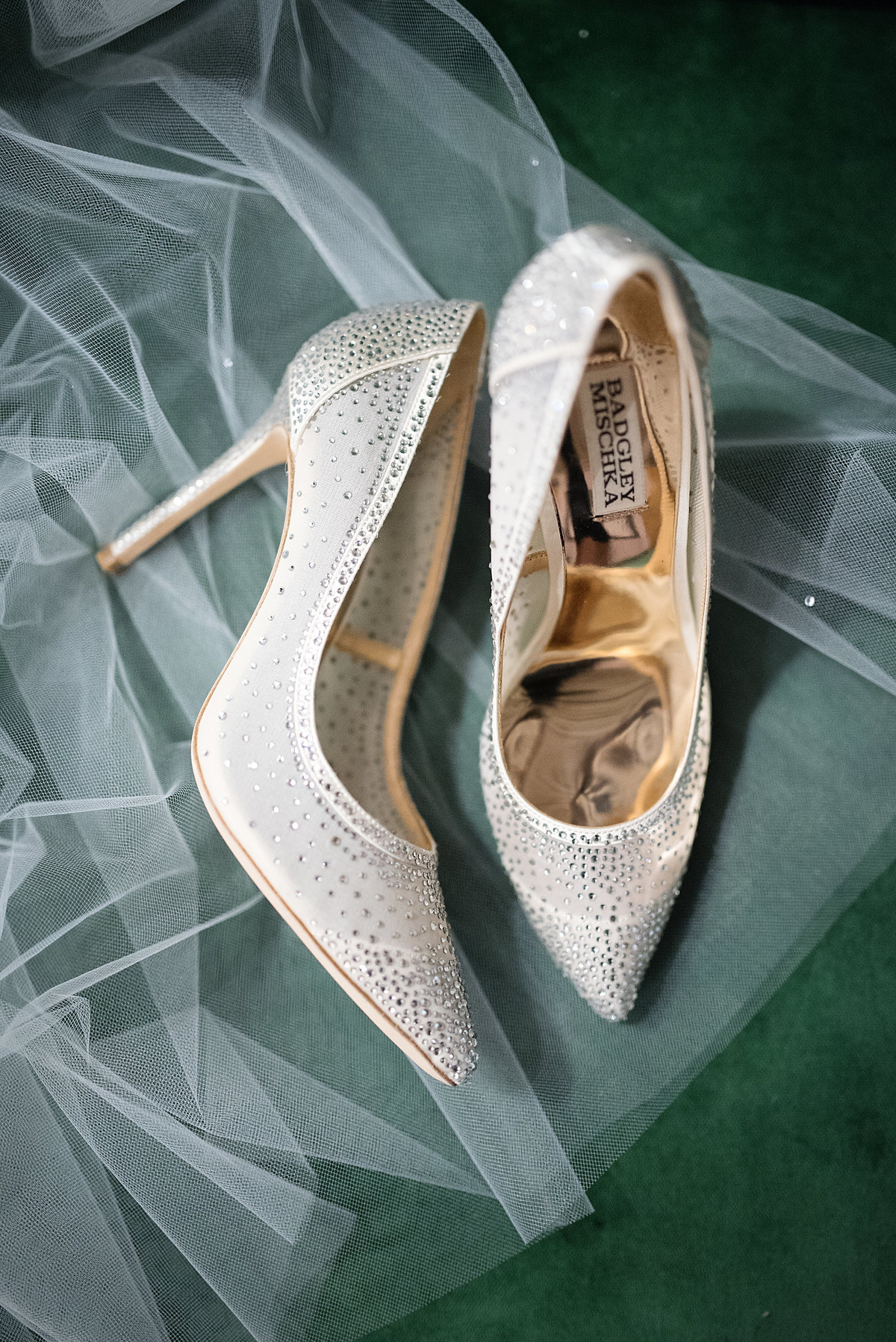 Badgley Mischka Closed toe Wedding Shoes