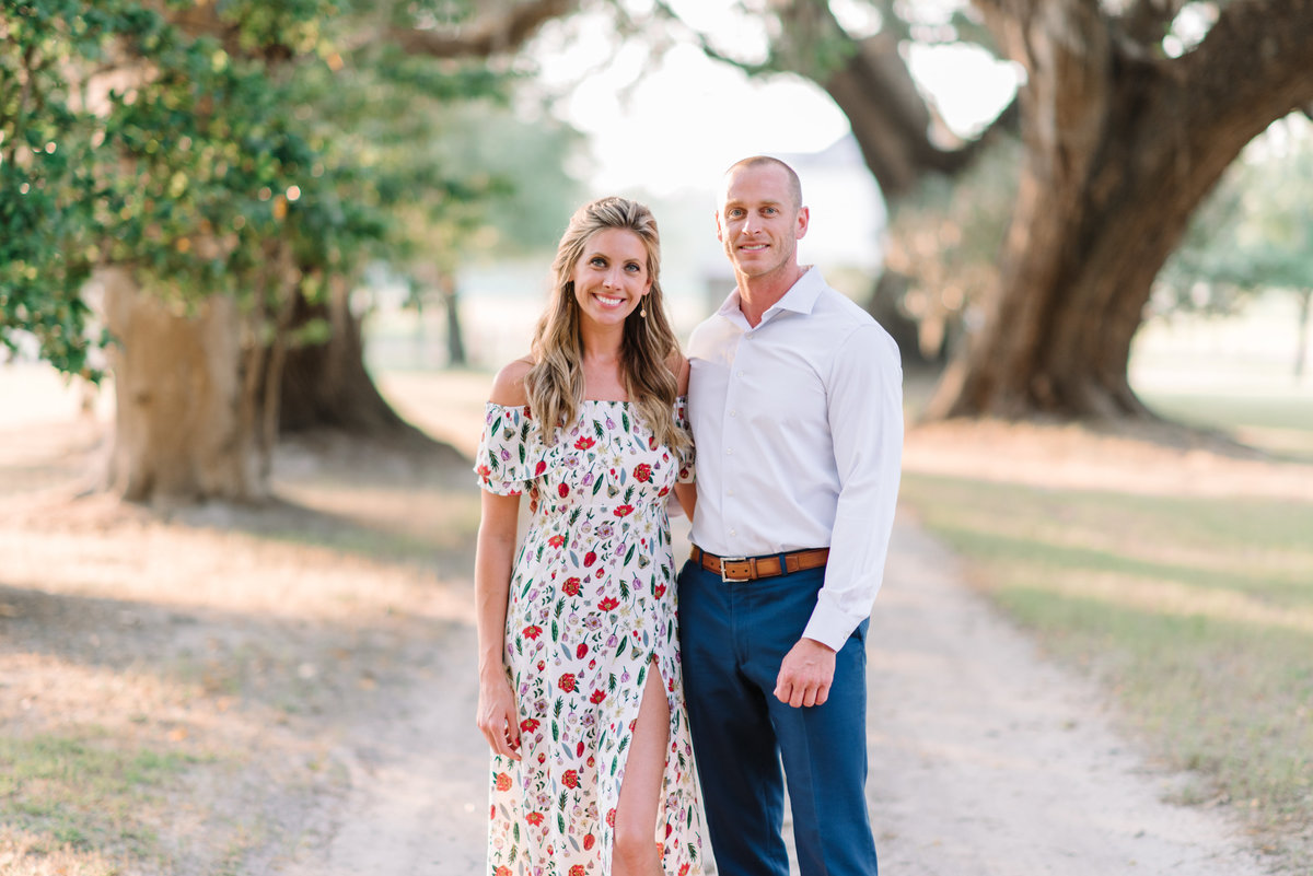 A beautiful engagement photography session in Georgetown, SC at Mansfield Plantation by Charleston Photographer Pasha Belman