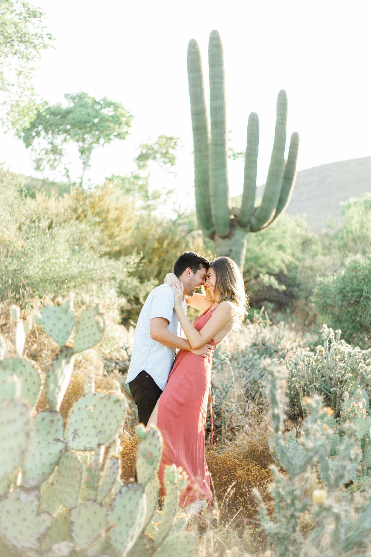 Karlie Colleen Photography - Arizona Desert Engagement - Brynne & Josh -135