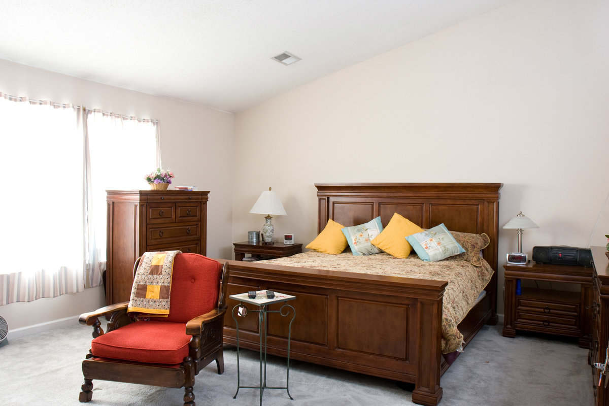 Real Estate Master Bedroom