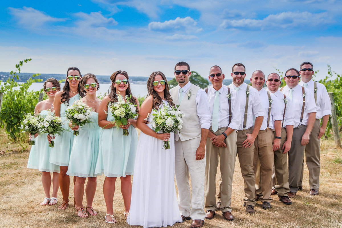 2 wedding photography Bridal Party Portrait 2