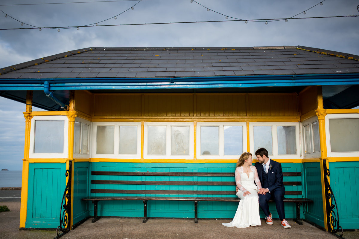wedding photo in paignton
