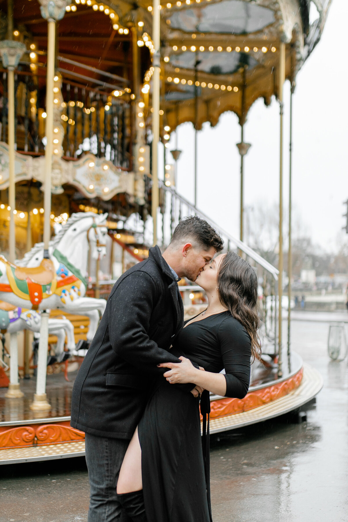 Karlie Colleen Photography - Paris Engagement Shoot-47