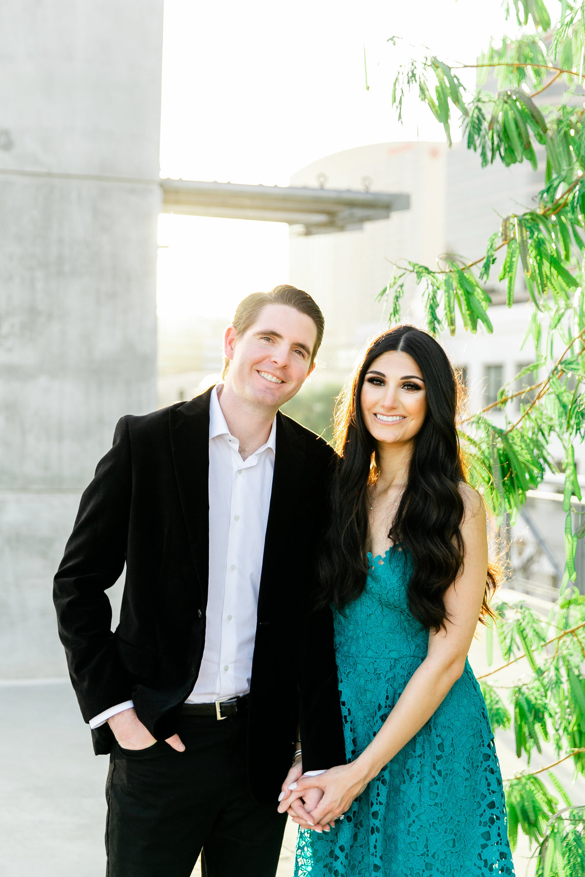 Karlie Colleen Photography - Arizona Engagement City Shoot - Kim & Tim-191