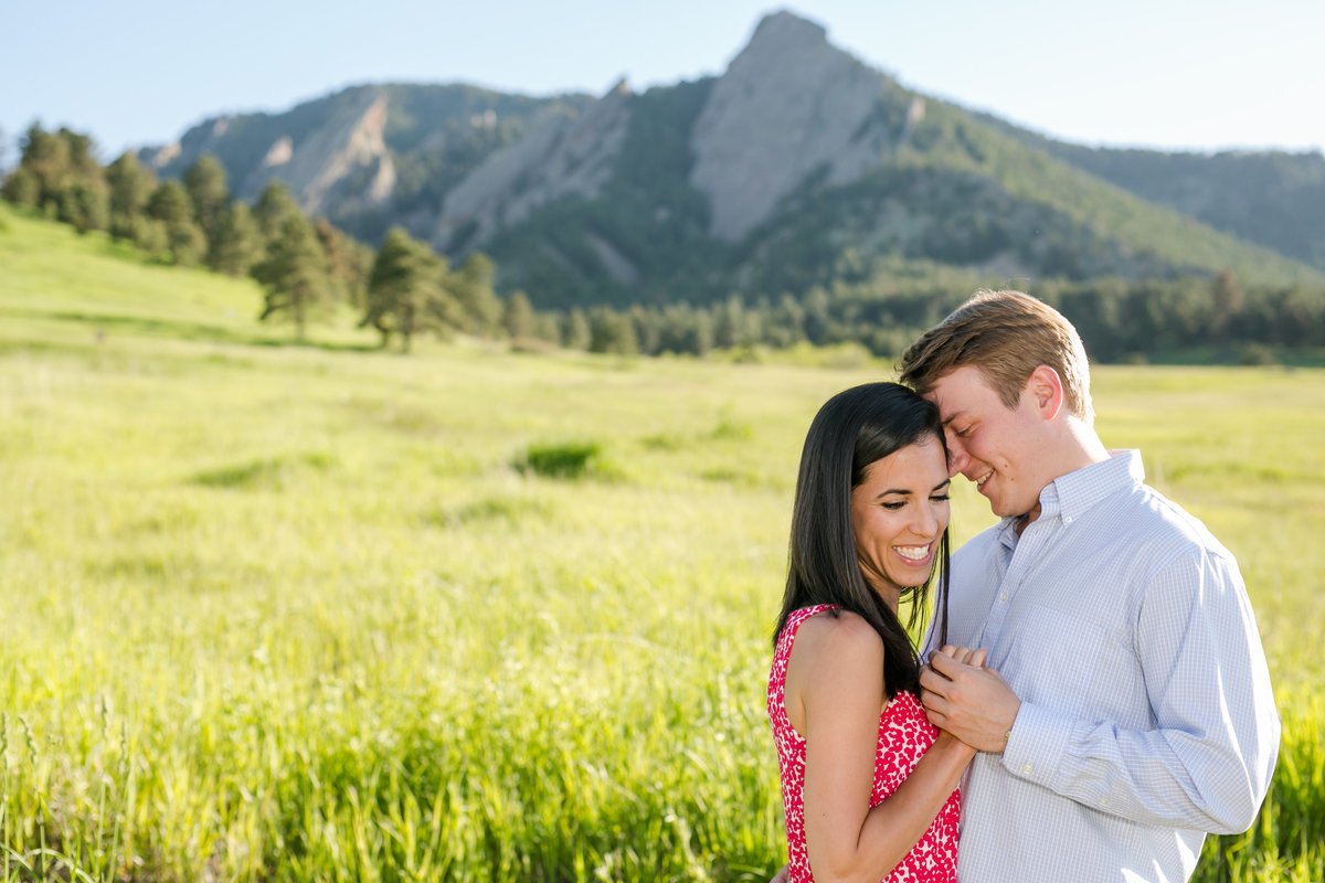 Chautauqua engagement photo session