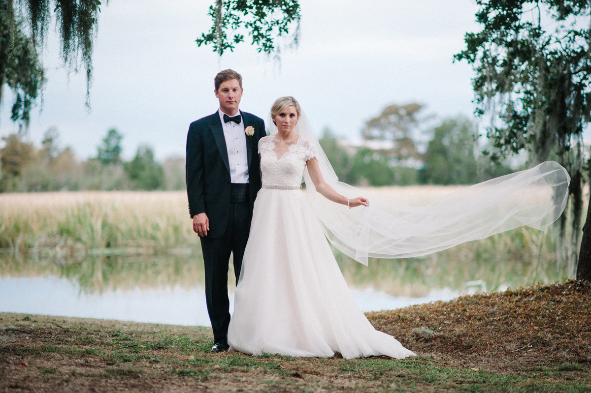 Pawleys Island Wedding Photography by one of the top wedding photographers in Charleston, South Carolina | Caledonia Golf Club Wedding Photography in Pawleys Island, SC