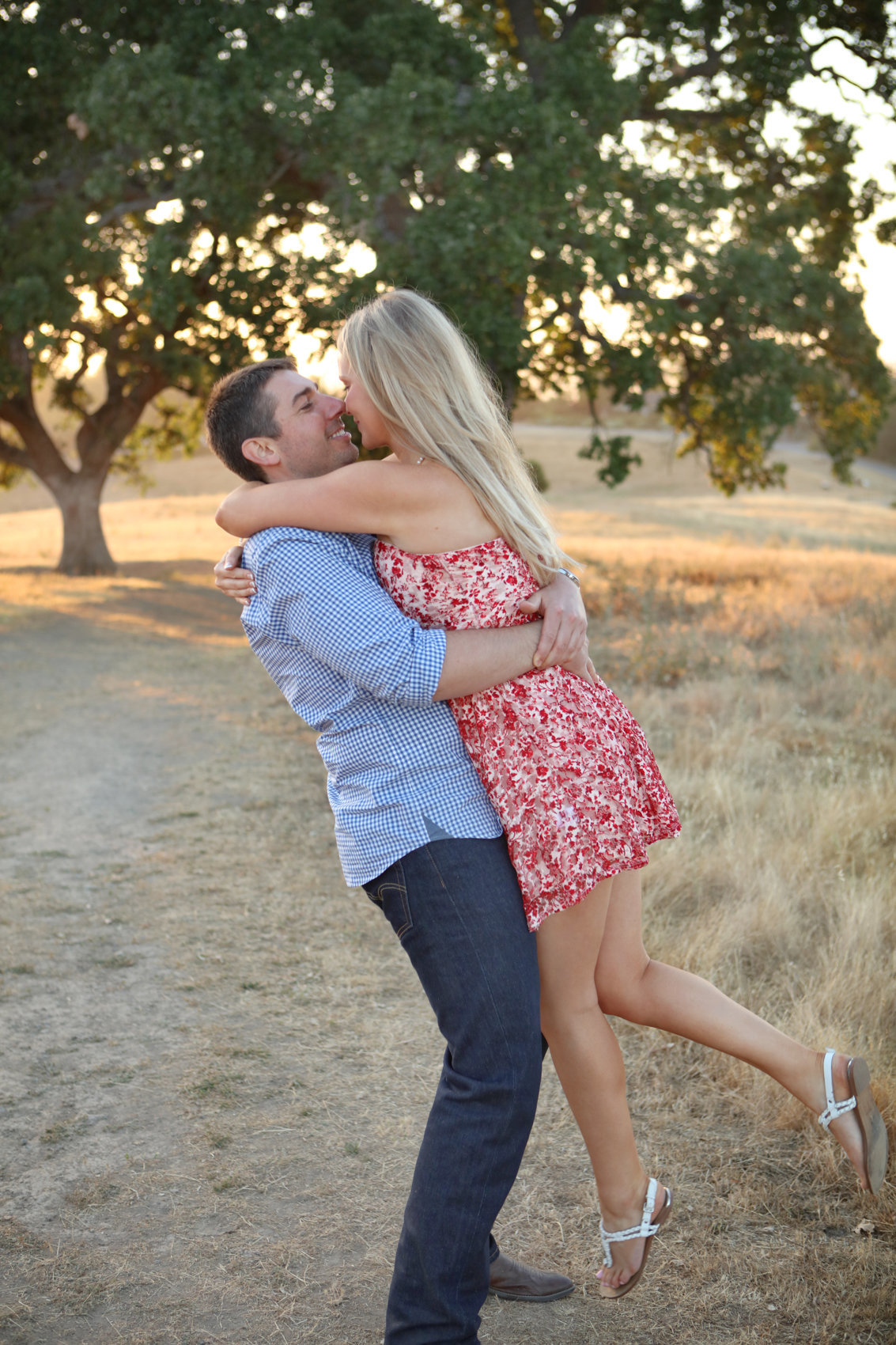 Los altos california natural light portraits young couple love