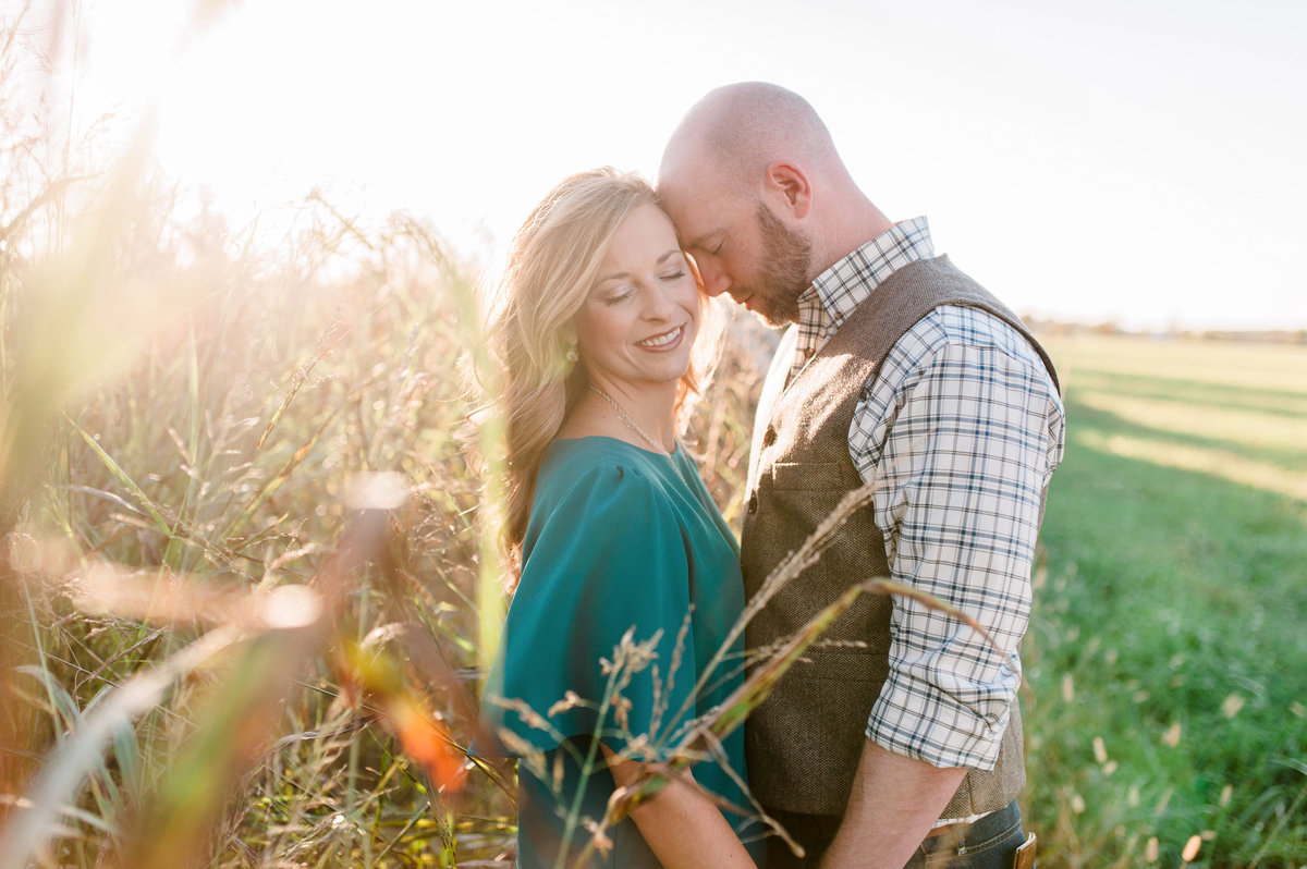Bentonville and Fayetteville Engagement and wedding photographer, NWA wedding and engagement photographer, engaged couple in love kissing, engagement photo inspiration-52