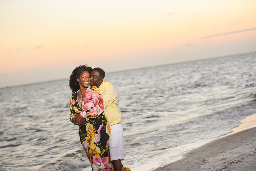Biloxi Beach engagement session-32