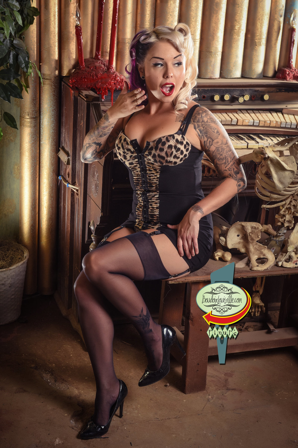 Boudoir Louisville - Pinup Girl Photography Studio - Pinup Photographers-201