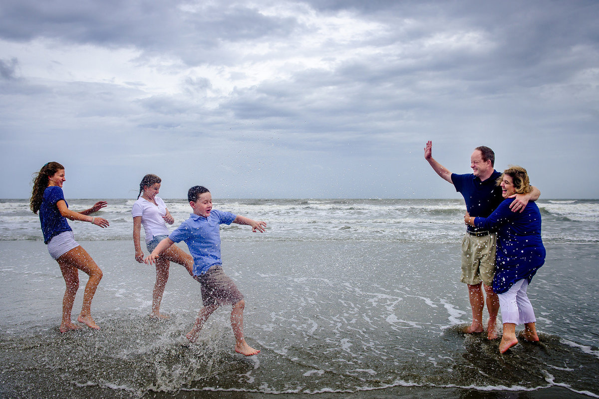 Beach Family Photos Isle of Palms by King and Fields Studios Charleston SC