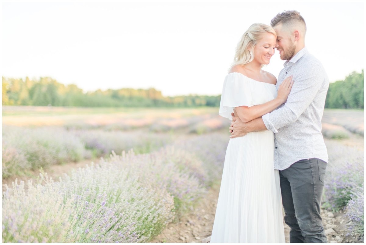 Light-and-Airy-Ottawa-Wedding-Photographer-Romantic-Lavender-Field-Engagement-La-Maison-Lavende
