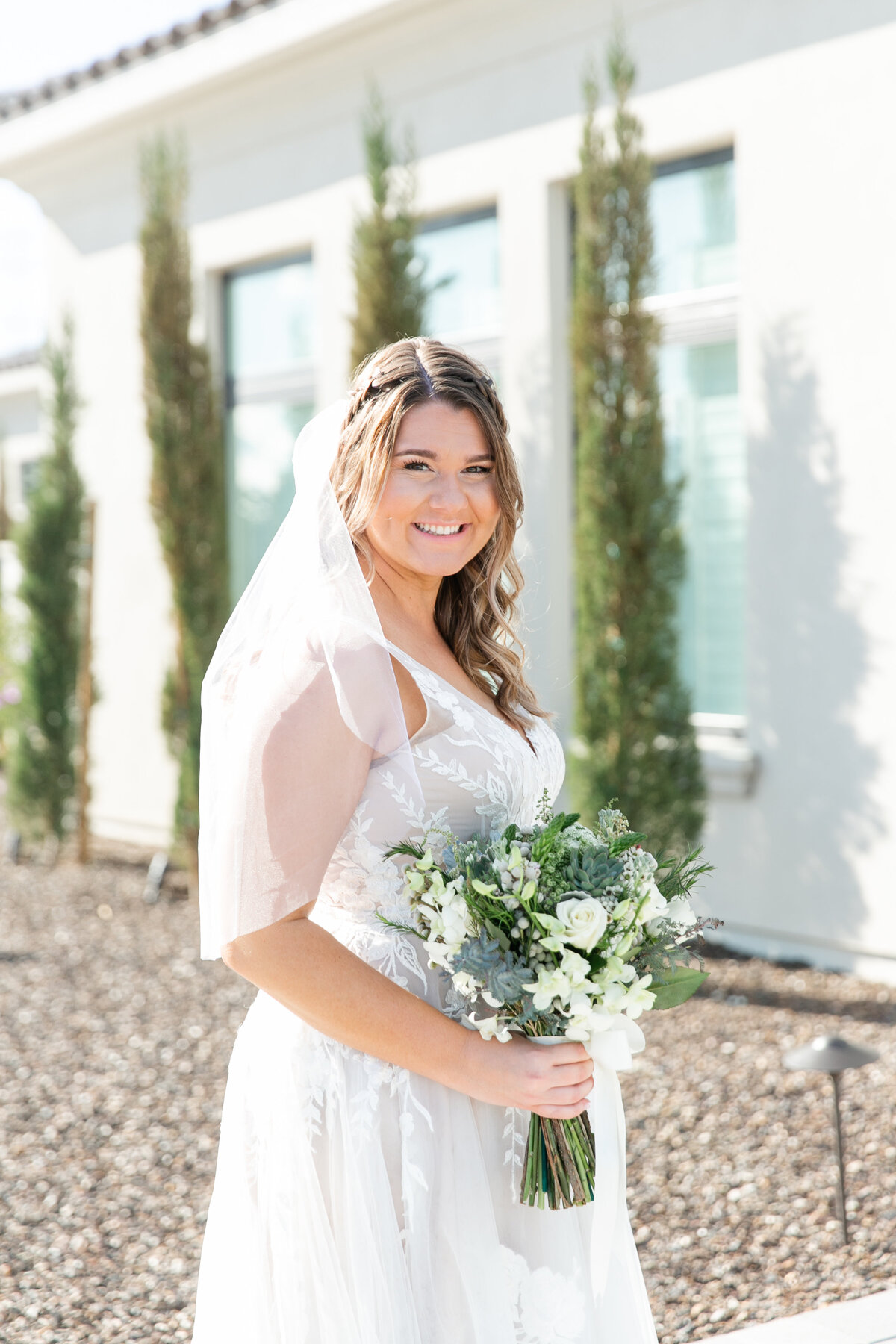 Karlie Colleen Photography - Arizona Backyard wedding - Brittney & Josh-92